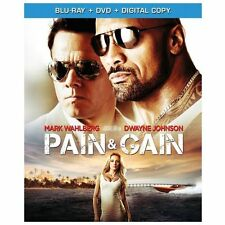 Pain  Gain (Blu-ray/DVD, 2013, 2-Disc Set, Includes Digital Copy) with Slipcover
