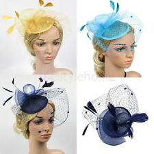 MagiDeal Wedding Derby Races Feather Fascinator 1920s Gatsby Hen Party Fancy Hat