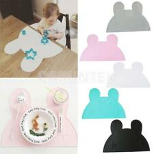 Creative Rabbit Shape Insulation Kitchen Placemat Baby Kid Food Table Pad