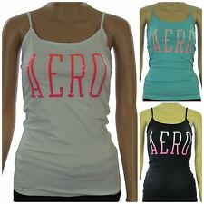 Aeropostale Women's Juniors Embellished Tank Top Graphic Cami New With Tags