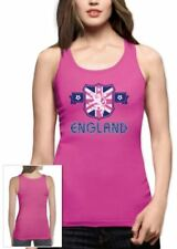 ENGLAND Flag Crest Women Tank Top UK National Team Soccer Football WorldCup 2015
