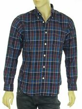 Nautica Men's Plaid Long Sleeve Button Down Collared Shirt New with Tags