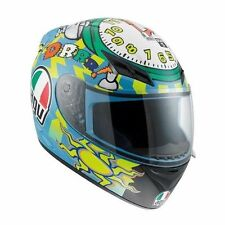 New  AGV K3 Wake Up Valentino Rossi 46 Full Face Motorcycle Helmet