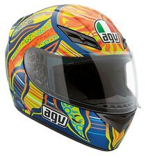 New  AGV K3 5 Continents Valentino Rossi 46 Full Face Motorcycle Helmet