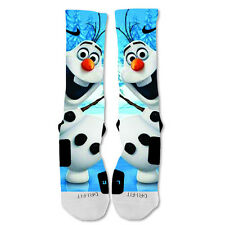 Nike Elite socks custom Olaf Frozen