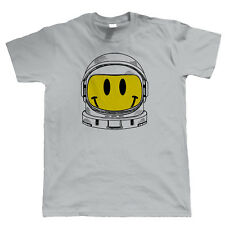 Spaced Out Smiley Face Mens Funny T Shirt - DJ Dance Rave Gamer Geek Hipster