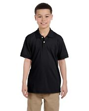 Harriton Sport Shirt Polo Youth 5 oz Easy Blend M265Y NEW Size/Color Choice