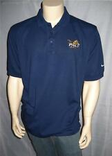NIKE Dri-Fit Pace University GOLF Navy Polo Collared Shirt NCAA  Mens' Sizes