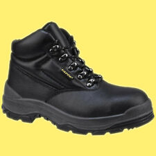 Delta Plus CAPPS LH811SM S3 Black Leather Safety Work Boots Shoes Steel Toe Cap
