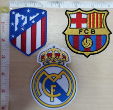 Barcelona Real Madrid Atletico Madrid Atlético Iron-on Patch La liga Football 17