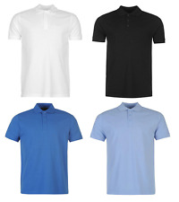 Pierre Cardin Plain Polo T Shirt Mens