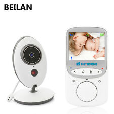 2.4'' LCD 2.4GHz Wireless Video Baby Monitor Security Baby Camera 2 Way Talk