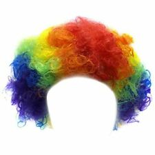 Clown Wig - Clown Costume Accesories - Clown Wig for Adults - Colorful Afro Wig