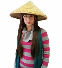 Deluxe Coolie Hat - Deluxe Traditional Asian Conical Coolie Hat