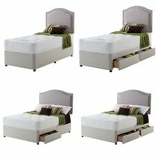 Rest Assured Irvine 1400 Pocket Orthopaedic Divan Bed - Choice of Size / Drawers