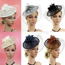 MagiDeal Flapper Feather Fascinator Wedding Tea Party Royal Ascot Race Headband