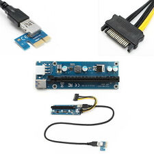1Pcs Riser Adapter 1x To 16x Power Extender Card PCI-E USB 3.0 Pcie Hot Cable