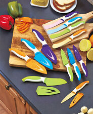 Kitchen Knives Chef Paring Serrated Cutlery Knife Set 4 Piece Stainless Steel