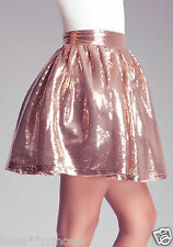 NWT bebe gold sequin sparkle pleated club dress skirt sexy party XXS 00 cocktail