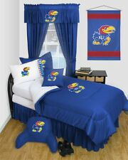 Kansas Jayhawks KU Dorm Bedding Comforter Set