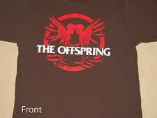 The Offspring 2009 Tour Skeleton Brown Shirt NEW M XL