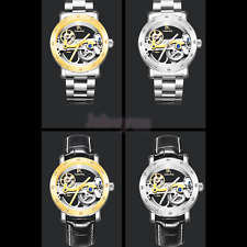 Luxury Stainless Steel Automatic Mechanical Luminous Hands Analog Mens Watch