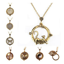 Vintage Necklace 5 Times magnified 1Pcs Magnifying Glass 7 Styles Pendant