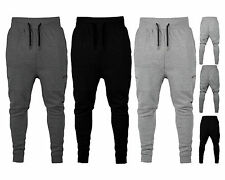 New Mens Super Slim Skinny Fit Designer Stretch Bottoms Joggers Pants Trousers