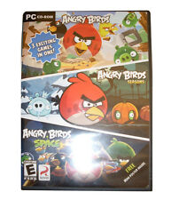 Angry Birds/Angry Birds Seasons/Angry Birds Space (PC, 2012) BRAND NEW SEALED