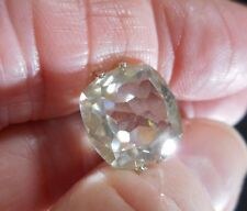 EXOTIC!  5.41 ct  12.91 mm VS2 ICY SUNNY WHITE  LOOSE CUSHION MOISSANITE