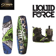 Liquid Force Classic Wakeboard With HYPERLITE Remix Bindings