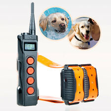 Aetertek Professional 919C Dog 1000M Remote Shock Collar Train Auto Anti-bark