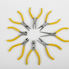 1x/8x Long Flat Needle Sharp Nose Precision Pliers Hand Tool FOR Jewelry Making