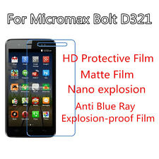 3pcs For Micromax Bolt D321 HD Protective Ultrathin,Anti Scracth Matte Film