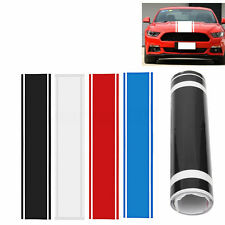 1x Car Decal Vinyl Graphics stickers Hood Dual Racing Stripe for Mustang #938