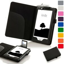 Forefront Cases Leather Case Cover with LED Light Amazon Kindle 2016 8th Gen