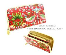 Strawberry Thief by William Morris | The Leonardo Collection Purse Wallet Clutch