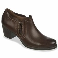 Natural Soul by Naturalizer Womens Booties Kasta Shooties Brown size 6 NEW