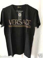 DISCOUNT-NWT Mens Black FULL PRINT NAME Short SLV T Shirt-ea.d.g.ga.aj.aix