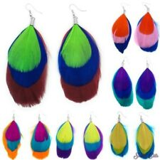 Adorable Feather earrings in colourful Colours feather Earring Earrings
