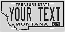 Montana 1964 License Plate Personalized Custom Auto Bike Motorcycle Moped tag
