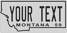 Montana 1959 License Plate Personalized Custom Auto Bike Motorcycle Moped tag