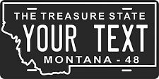 Montana 1948 License Plate Personalized Custom Auto Bike Motorcycle Moped tag