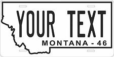 Montana 1946 License Plate Personalized Custom Auto Bike Motorcycle Moped tag