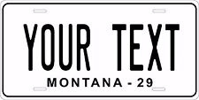 Montana 1929 License Plate Personalized Custom Auto Bike Motorcycle Moped tag