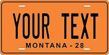 Montana 1928 License Plate Personalized Custom Auto Bike Motorcycle Moped tag