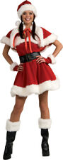 Christmas Miss Santa Baby Sexy Dress Mrs. Claus Womens Holiday Party Costume