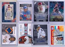 MLB GAME USED / AUTO LOT 8 CARDS  ALL GU OR AUTO!  SORIANO ANDRUS BECKETT & MORE