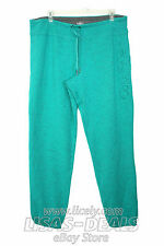 New Womens CALVIN KLEIN Lounge Sweat Pants Drawstring Green Gray L XXL