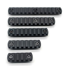 Hot Black 5,7,9,11,13 Slots Picatinny/Weaver Rail Sections for Keymod Handguards